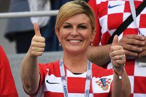 Tổng thống Kolinda: 'Croatia sẽ đánh bại Pháp trong trận chung kết'
