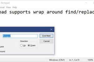 Sau tất cả, Microsoft cũng chịu cập nhật Notepad