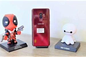 Galaxy S9+ màu đỏ về Việt Nam với giá 16,3 triệu đồng