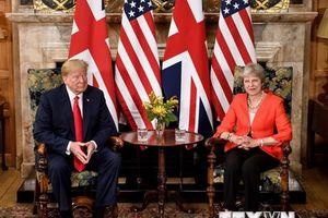 Tổng thống Mỹ 'đổi giọng' ủng hộ kế hoạch Brexit của Thủ tướng Anh