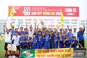 Thắng lò PVF, SLNA gia tăng kỷ lục vô địch Giải U13 toàn quốc