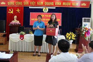 Các cấp Công đoàn tỉnh Lai Châu: Kết nạp 206 đoàn viên, thành lập 7 CĐCS
