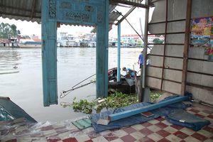 Dông lốc, lở đất gây thiệt hại nặng tại nhiều địa phương Đồng bằng Sông Cửu Long