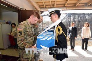 Mỹ, Triều Tiên đàm phán về trao trả hài cốt binh lính
