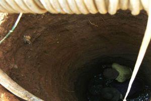 Bắc Giang: Đau lòng 3 mạng người bị 'nuốt' trong lúc đào giếng