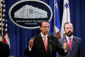 Mỹ truy tố 12 điệp viên Nga vì can thiệp bầu cử năm 2016