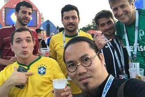 Vượng Râu tiết lộ giá vé chợ đen xem Chung kết World Cup 2018