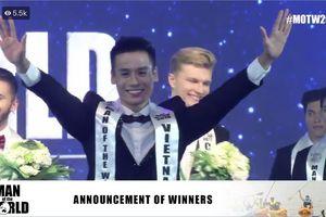 Cao Xuân Tài đăng quang Người đàn ông của thế giới 2018