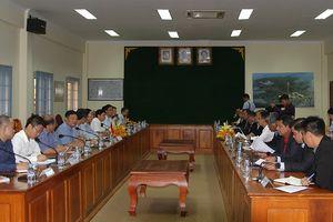 Đoàn công tác liên ngành Việt Nam làm việc với Bộ Thông tin Campuchia