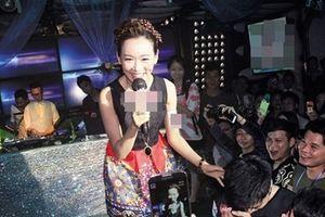 Hoa hậu Hồng Kông rơi đáy danh vọng, đi hát quán bar