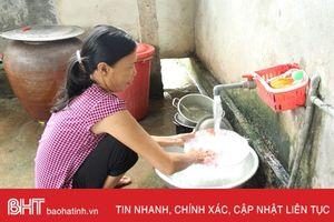 Người dân Hương Quang, Hương Điền đã có nước sạch sử dụng