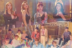 Tung MV cùng lúc, Mamamoo và Seventeen ai hot hơn?