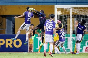 Nam Định để Hà Nội FC cầm hòa đáng tiếc khi dẫn trước 3-0