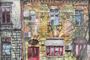 Triển lãm của họa sĩ trẻ người Romania tại Hà Nội