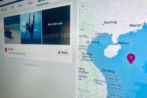 Facebook chưa xử lý triệt để bản đồ gộp Hoàng Sa vào Tam Sa