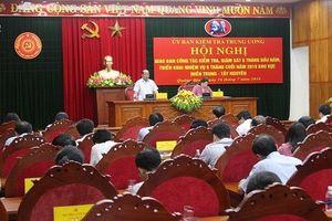 Miền Trung - Tây Nguyên: Xử lý kỷ luật 39 tổ chức Đảng, 1.164 đảng viên vi phạm