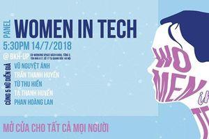 Chương trình hackathon đầu tiên tại Việt Nam dành cho nữ giới
