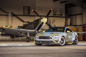Chiêm ngưỡng Ford Mustang độ phong cách máy bay chiến đấu