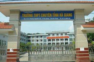 Những thí sinh điểm thi cao nhất Hà Giang bị hạ bao nhiêu điểm?