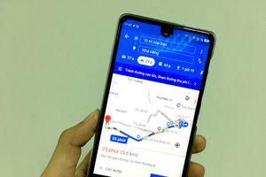Cách tìm đường đi bằng xe máy trên Google Maps