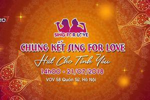 Chung kết cuộc thi 'Hát cho tình yêu' của các thí sinh tuổi Đinh Tỵ