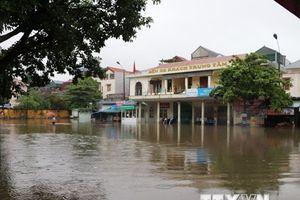 Hình ảnh các địa phương bị ngập, úng do mưa lớn diện rộng kéo dài
