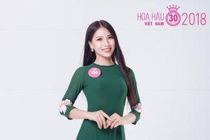 Á khôi duyên dáng ngoại thương lọt vào Chung khảo phía Bắc Hoa hậu Việt Nam 2018