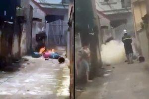 Hà Nội: Nghi án con rể mang 4 bình gas đến nhà bố mẹ vợ châm lửa đốt