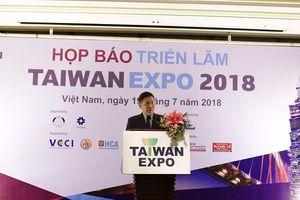 Hàng loạt ứng dụng thông minh sẽ được giới thiệu tại Taiwan Expo 2018