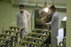 Mỹ rút khỏi JCPOA, Iran hoàn thành nhà máy làm giàu urani