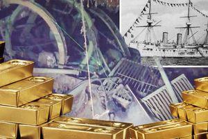 Đổ xô tìm tàu chiến Nga chứa 5.500 thùng vàng ở bờ biển Hàn Quốc