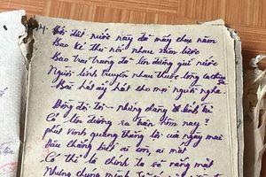 Tôi đã tìm lại được bài thơ thất lạc từ 36 năm trước!