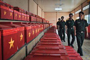 Quân khu 9 tìm kiếm, quy tập được 380 hài cốt liệt sĩ