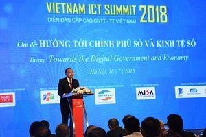ICT Summit 2018 với 6 thông điệp hướng tới Chính phủ số và Kinh tế số