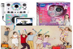 Những mẫu máy karaoke thiết kế đẹp mắt và tiện ích dành cho trẻ em