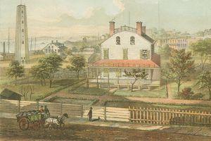 Hình ảnh thành phố New York hoa lệ khi mới chỉ là đất nông nghiệp