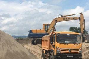 Vụ bến cát không phép ở Phú Thọ: Huyện yêu cầu đình chỉ cho có?