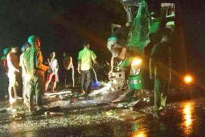 Xe giường nằm tông xe khách cùng chiều, 24 người bị thương