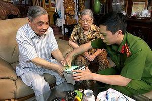 Nguyên Giám đốc CATP Hà Nội vui mừng trước việc làm của CAQ Ba Đình