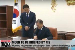 Tổng thống Hàn Quốc sẽ nhận báo cáo đầu tiên từ cơ quan tình báo