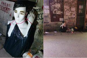 Dân mạng dựng tóc gáy với những thứ được vứt ra đường buổi đêm