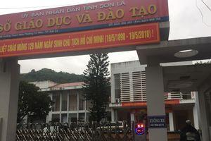 Tổ công tác của Bộ GD-ĐT chấm thẩm định ở Sơn La suốt đêm
