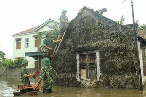 26 người chết và mất tích do mưa lũ ở Yên Bái và Thanh Hóa