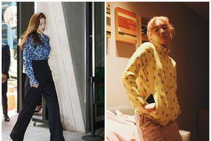 'Mẹ bỉm sữa' Jun Ji Hyun khoe dáng eo ót - Taeyeon diện đồ ngủ vẫn thần thái ĐẸP nhất street style sao Hàn