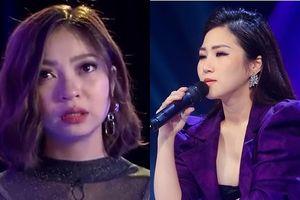 Bị Hương Tràm chê bản năng kém, bạn gái Quang Hải bật khóc nức nở