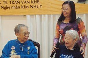 Vĩnh biệt Nghệ sĩ Kim Nhụy - huyền thoại hát ru Nam Bộ