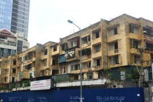 Hà Nội: Cưỡng chế, thu hồi 'đất vàng' khu chung cư 93 Láng Hạ