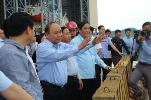 Thủ tướng kiểm tra, làm việc với Formosa Hà Tĩnh