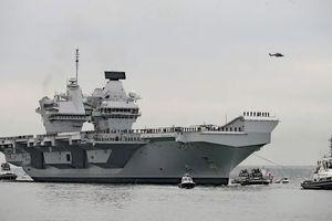 Anh có thể đưa tàu sân bay tới châu Á-Thái Bình dương hỗ trợ Úc