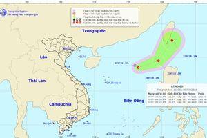 Áp thấp nhiệt đới tiếp tục xuất hiện trên Biển Đông
